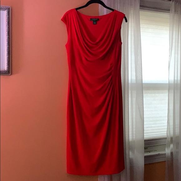 Ralph Lauren Dresses & Skirts - Red Ralph Lauren Dress